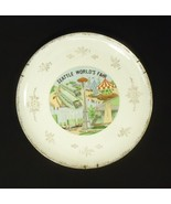 1962 Seattle World's Fair Plate with Gold Trim ... - $30.39