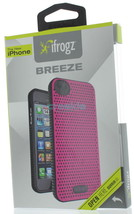 iFrogz Breeze Skin Case Cover for the New Apple iPhone 5 - Pink and Black - $15.49