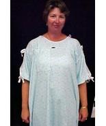 Karen Neuburger MRI Patient Gown Hospital Unisex Blue - $24.72