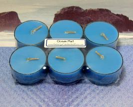 Ocean Mist PURE SOY Tea Lights (Set of 6) - $5.00