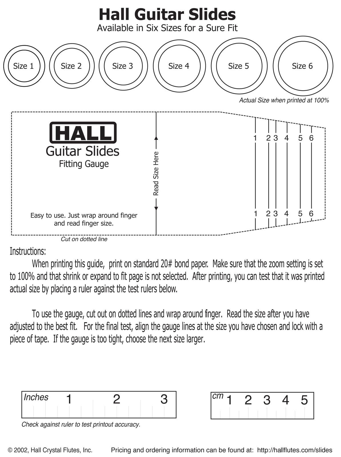 Guitar Slide/Celtic Design/Borosilicate Glass/Hall Size 4