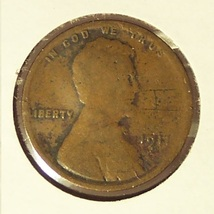 1911-D Lincoln Wheat Penny G4 #0068 - $3.39