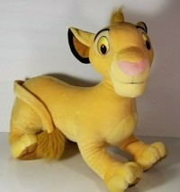 "22"" Jumbo Simba Lion King Plush Stuffed Animal Disney Hasbro 2002  - $26.72"