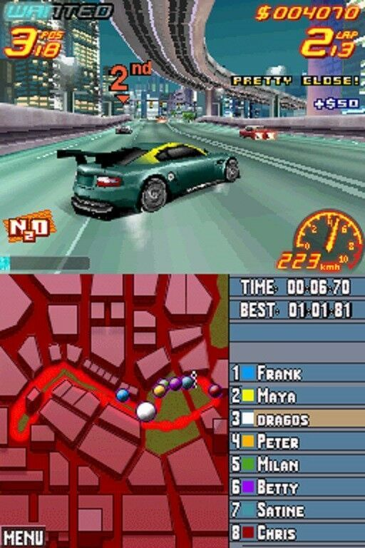 Asphalt Urban GT 2 - (Nintendo DS, 2006)