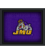 "James Madison University ""College Logo Plus Word Clouds"" - 15 x 18 Frame... - $49.95"