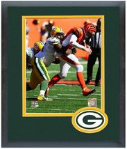 Mike Daniels 2013 Green Bay Packers - 11 x 14 Team Logo Matted/Framed Photo - $43.55
