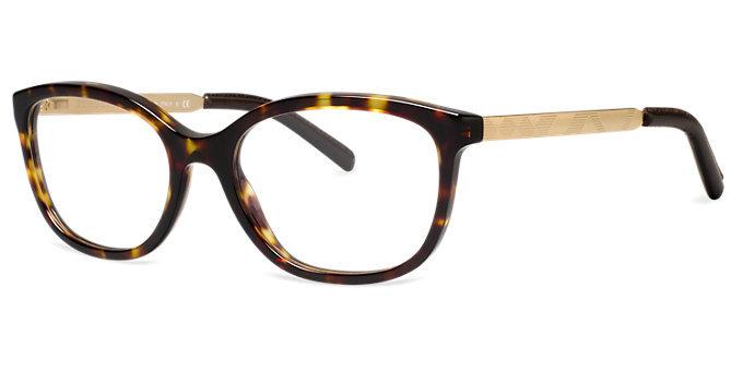 Burberry BE2148Q 3002 Tortoise Brown Gold Eyeglass Frame ...