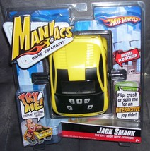 Hot Wheels MANIACS JACK SMACK Handheld Electronic LCD Game - $23.96
