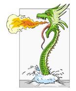 Breathing Fire-Digital Download-ClipArt-Art Cli... - $3.00