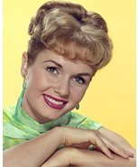 Debbie Reynolds early 1960's studio portrait smiling 16x20 Canvas Giclee - $69.99