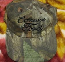VTG Baseball Cap Corwin Ford Mannington West Virginia dealer trucker hat - $39.98