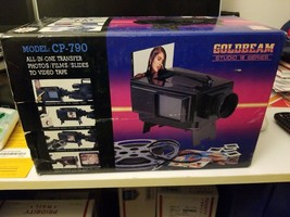 Goldbeam Studio Photo Slides Film Transfer to Video Tape Series VII Mode... - $29.95