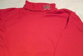 Nebraska Cornhuskers Majestic Turtle Neck T-Shirt Medium NCAA Big Ten - £10.17 GBP
