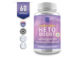 Ultra Fast Pure Keto Boost Weight Loss Diet Pills Ketogenic Supplement BHB image 2
