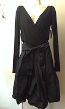 $1195 DONNA KARaN collection black label deconstructed  AVANT-GARDE skirt 6 - $218.60