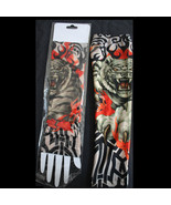 Gothic Punk-TIGER TRIBAL FLAMES-TATTOO SLEEVES ... - $6.90