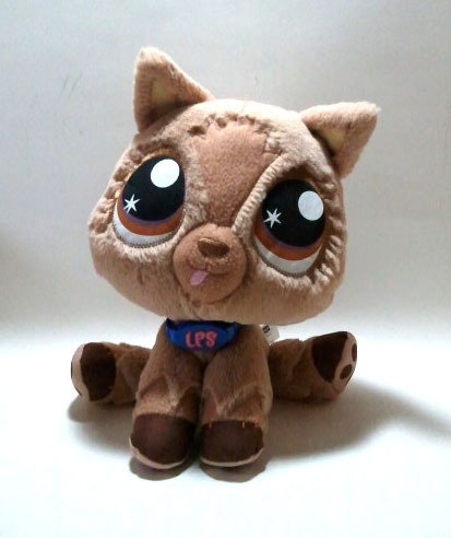 "Littlest Pet Shop ""Brown Dog"" Plush"