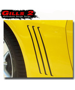 2014 Chevy Camaro GILL 2 Vent Insert Stripe Decal 3M Vinyl Graphic GM LS... - $36.74