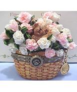"Boyds Treasure Box -Beary Blossom- ""Carnations"" Jan. Birthday -2005-NIB-... - $14.99"