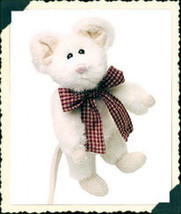 """Boyds Bears """"Brie"""" - 6"""" Plush Mouse - #5756 -1993 - NWT- Retired - $12.99"""