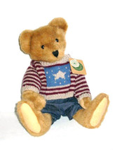 "Boyds Bears ""Teddy Beanberger"" 16"" Plush Bear-  #9118- NWT- 1995- Retired - $44.99"