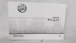 2012 Buick Regal Owners Manual 52817 - $30.91