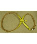 Wilson Pet Harness Adjustable 30in x 1/2in Yell... - $12.27