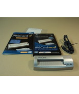 IRIS Business IrisCard Reader Pro 4 600 Cards Per Hour USB PRO-BE1-003305 - $81.36