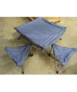 Northpole Fold Out Camping Table 4 Chairs 50in ... - $77.66
