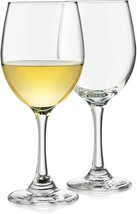 Libbey Classic White Wine Glasses, Set of 4 , Clear , 14 oz - 3011S4B   - $19.99