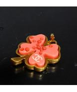 Chanel cc Mark Trébol Collar Superior - $267.44