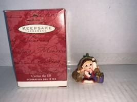 Hallmark Keepsake Ornament Collectors Club Curius the Elf 2001 - $5.00