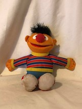"Plush Sesame Street Ernie 10"" Hasbro 2010 - $2.97"