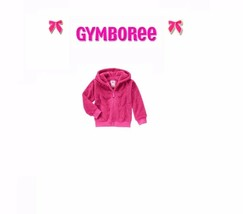 "Gymboree girl ""Play by Heart"" Pink Soft Sherpa Furry Hoodie New XS / S  / L - $29.00"