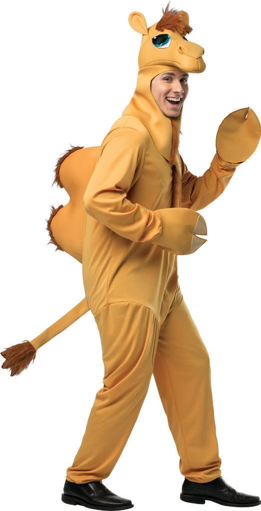 Camel Costume Adult Men Women Hump Day Animal Halloween Party One Size GC6527