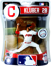 Corey Kluber Cleveland Indians Imports Dragon Figure MLB NIB Series 52 T... - $34.64
