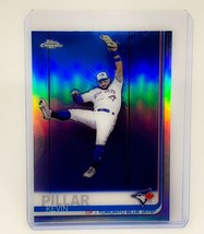 MLB KEVIN PILLAR TORONTO BLUE JAYS 2019 TOPPS CHROME REFRACTOR #137 MINT - $1.58