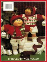 Xavier Roberts Cabbage Patch Kids 23 Knit Sweaters Pants Skirts Pattern - $12.99