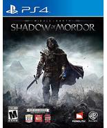 Middle Earth: Shadow of Mordor - PlayStation 4 [video game] - $7.51