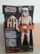 Star Wars Rogue One Interactech Imperial Stormtrooper Figure 65+ Phrases New  - $39.60