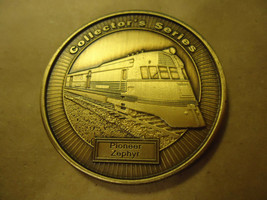 PIONEER ZEPHYR MODEL RAILROADER MEDALLION COLLECTOR'S COIN       > BAG A32  - $6.43