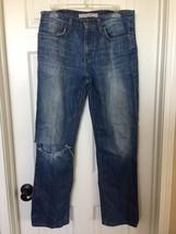 Joes Jeans Mens Sz 32 x 30 Classic Tanner $175 DPTX8729 Destroyed Straig... - $38.12