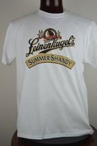 Leinenkugels Summer Shandy Amber Beer Mens XL White Graphic T Shirt - $24.15