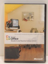 Microsoft Office 2003 Student and Teacher Edition Retail Full Version - $17.77