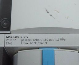 FESTO MS9-EM-G-S-VS , MS9-LWS-G-U-V , MS9-LFR-G-D7-CUV-AG-BAR-AS , MS9-FRM-G-VS image 5