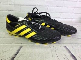 Adidas Mens Sz 12 Adinova II TRX FG Firm Ground Soccer Shoes Cleats Blac... - $65.45
