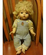 Vintage Doll JS & A Baby So Beautiful 1995 Playmates Toys USED - $28.50