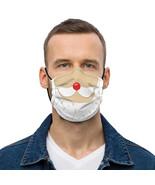 Face mask Funny Santa claus mustache Christmas - $18.00