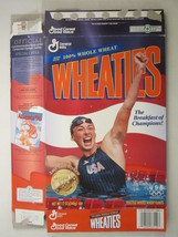 MT WHEATIES Box 1996 12oz AMY VAN DYKEN Olympic Swimming Champion [G7E12c] - $7.17