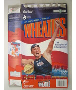 MT WHEATIES Box 1996 12oz AMY VAN DYKEN Olympic Swimming Champion [G7E12c] - $7.17